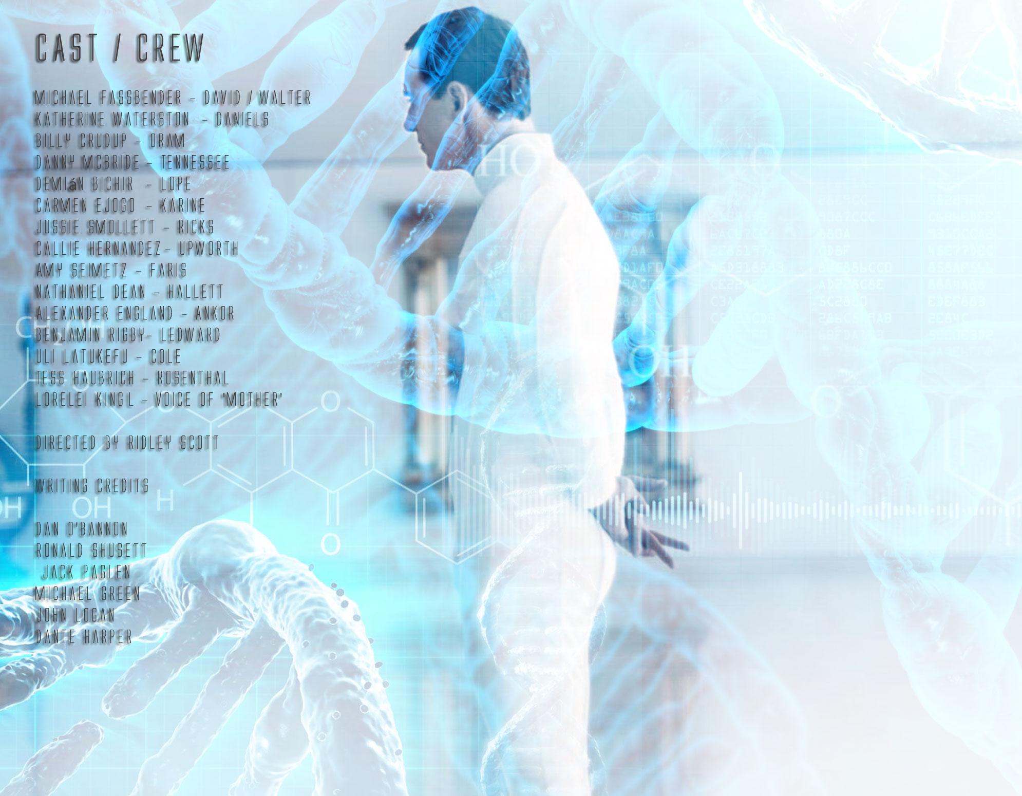 "Michael Fassbender: ""Alien: Covenant"" Cast & Crew Michael Fassbender"