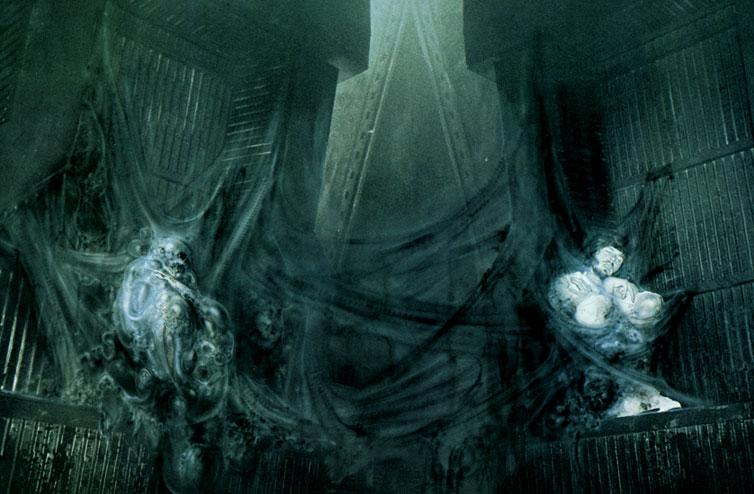 Michael Fassbender: Prometheus H.r. Giger Prometheus