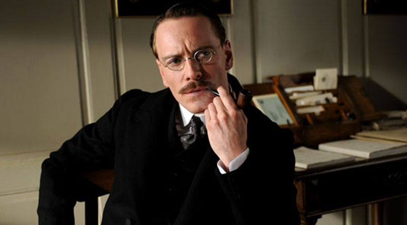 "Michael Fassbender: ""A Dangerous Method"" A Dangerous Method Freud"