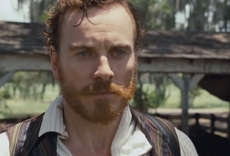 "Michael Fassbender: ""12 years a Slave"" Review"