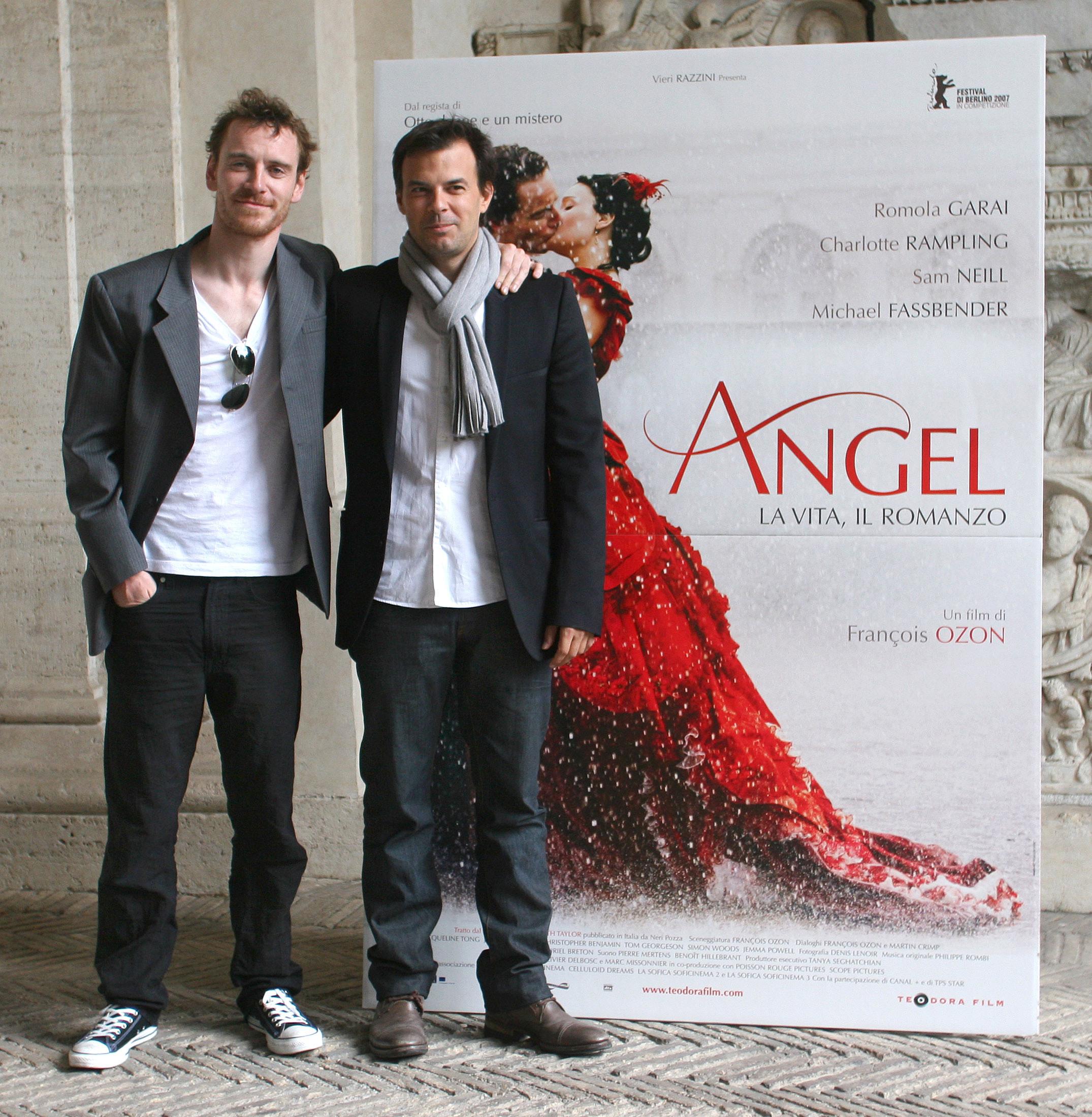 Angel Premiere Rome Mi... Michael Fassbender