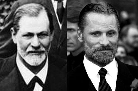 Till höger Mortensen till vänster Freud